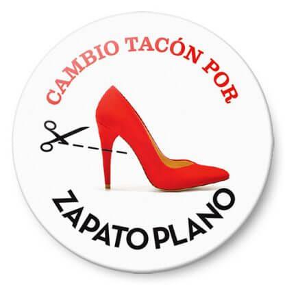 """Chapas para bodas: """"Cambio tacón por zapato plano"""""""