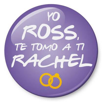 Chapa Yo Ross, te tomo a ti, Rachel