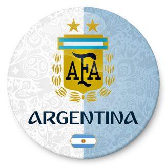 Chapa de Argentina Mundial 2018