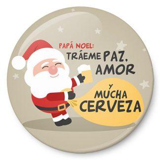 Papá Noel: tráeme paz, amor y mucha cerveza