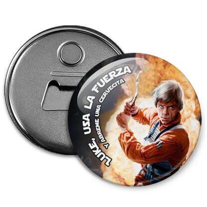 Chapa abrebotellas Luke Skywalker